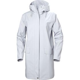 Helly Hansen Moss Rain Coat Women grey fog